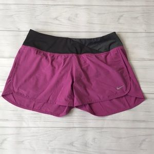 Nike dri-fit Women's small running shorts